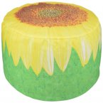 Fallen Fruits Inflatable Outdoor Pouffe - Sunflower