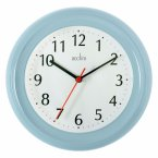 Acctim Wycombe Wall Clock Soft Blue