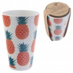 Bambootique Eco Friendly Biodegradable Pineapple Design Cup