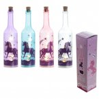 Mystical Unicorn Decorative Bottle With LED Lights (Assorted Colours)