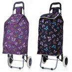 "Hoppa Lightweight Wheeled Shopping Trolley 23"" - Mixed Butterflies"