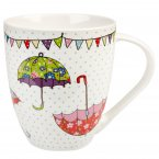 Churchill The Caravan Trail Crush Mug Festival Brollies 500ml
