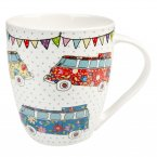 Churchill The Caravan Trail Crush Mug Festival Campers 500ml