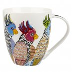 Churchill Paradise Birds Crush Mug Parakeets 500ml
