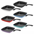 Judge Essentials Grill Pan 28 x 28cm - Assorted Colours