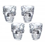 KitchenCraft Spookily Does It Shot Glasses (Set of 4)