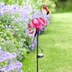 Smart Garden Solar Décor Stake Light Flamingo