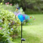 Smart Garden Solar Décor Stake Light Peacock