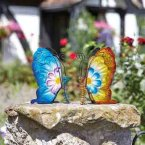 Smart Solar Menagerie Ornament - Flower Power Butterflies