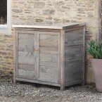 Garden Trading Aldsworth Tall Outdoor Storage Box - Spruce