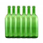 Young's Ubrew Wine Bottles (Pack of 6) - Green