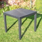 Trabella Roma Square Table Anthracite