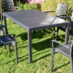 Trabella Salerno Table Anthracite