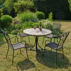 Byron Manor Monterey Dining Table with 4 Verona Chairs