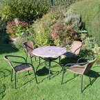 Summer Terrace Romano Patio 90cm Set - San Remo