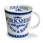 Dunoon Cairngorm Shape Fine Bone China Mug - Born & Bred Yorkshire