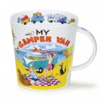 Dunoon Cairngorm Shape Fine Bone China Mug - My Camper Van