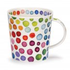 Dunoon Cairngorm Shape Fine Bone China Mug - Hot Spots