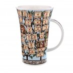 Dunoon Glencoe Shape Fine Bone China Mug - Kings & Queens