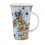 Dunoon Glencoe Shape Fine Bone China Mug - Shipping Forecast