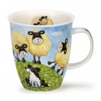 Dunoon Nevis Shape Fine Bone China Mug - Sheepies Hill