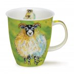 Dunoon Nevis Shape Fine Bone China Mug - Sheepies