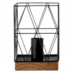 Bode Black Metal Wire Table Lamp