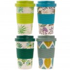 Lesser and Pavey Eco Bamboo Travel Mug 350ml- Nature Designs