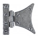 "Pewter 2"" Half Butterfly Hinge (pair)"