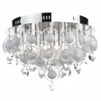 Dar Cloud 18 Light Flush G4 Crystal