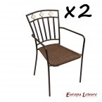 Europa Stone Murcia Chair PACK of 2