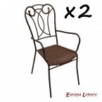 Europa Stone Verona Chair PACK of 2