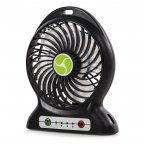 iTek Rechargeable 4 Inch Desk Fan