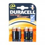 Duracell 4 Pack of AA Batteries S3561