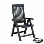 Nardi Flora Reclining Chair - Anthracite