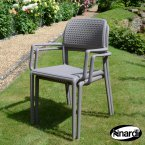 Nardi Bora Chair Turtle Dove PACK of 2