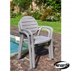 Nardi Palma Chair Tutle Dove & Turtle Dove PACK of 2