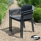 Nardi Net Chair Anthracite Pack of 2