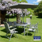 Summer Terrace FONTELLO 2&4 Chair Dining Set (Inc Paraso&Base)