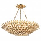 Dar Volcano 5 Light Pendant Gold