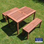 Summer Terrace HELSINKI Bench Seat Set