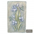 Solstice Sculptures Lilac Bud Wall Plaque