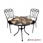 Europa Leisure Pompeii Bistro Table & 2 Verona Chairs Set