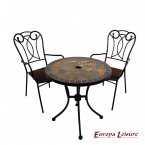 Europa Leisure Tobarra Bistro Table & 2 Verona Chairs Set