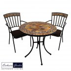 Exclusive Garden Belmont Bistro Table & 2 Kingswood Chairs Set