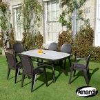 Nardi Coffee Toscana 165 Ravenna with 6 Creta Wicker Set