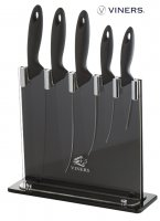 Viners Silhouette 5 Piece Knife Block Set