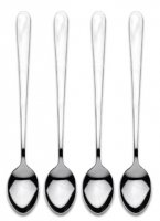 Grunwerg Cutlery Windsor Pattern Latte Spoons (Set of 4)