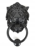 Black Lion Head Knocker