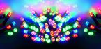 Premier Decorations Supabrights™ Multi-Action 380 LED - Multicoloured